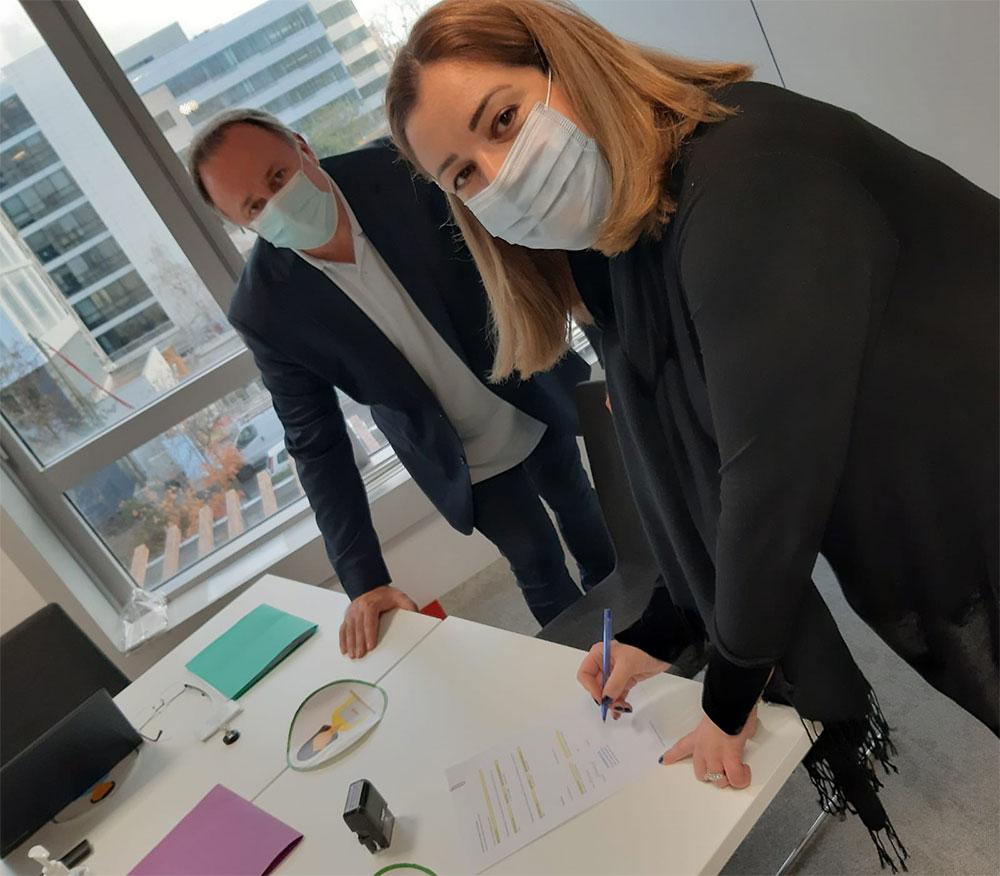 Signature Accord Tripartite Docuware/Toshiba/TEQSKILLS